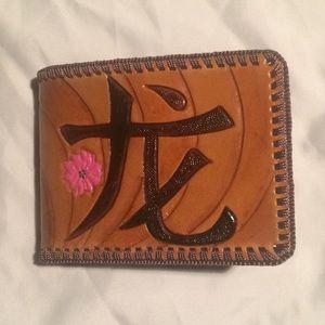 🔥 NWOT Men's Leather Wallet.